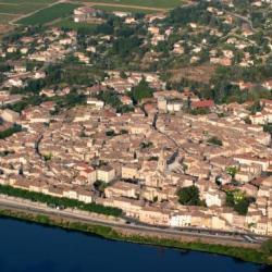 Vue aérienne de Bourg St Andéol