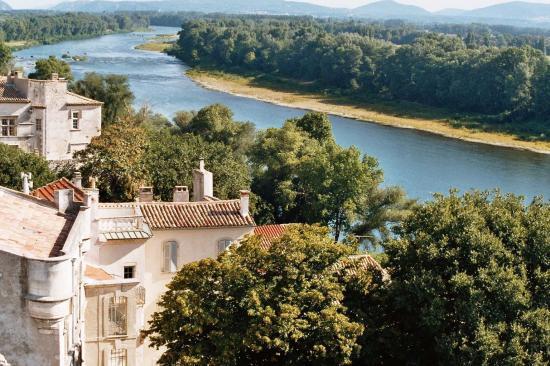 Le Rhône vue du Clôcher